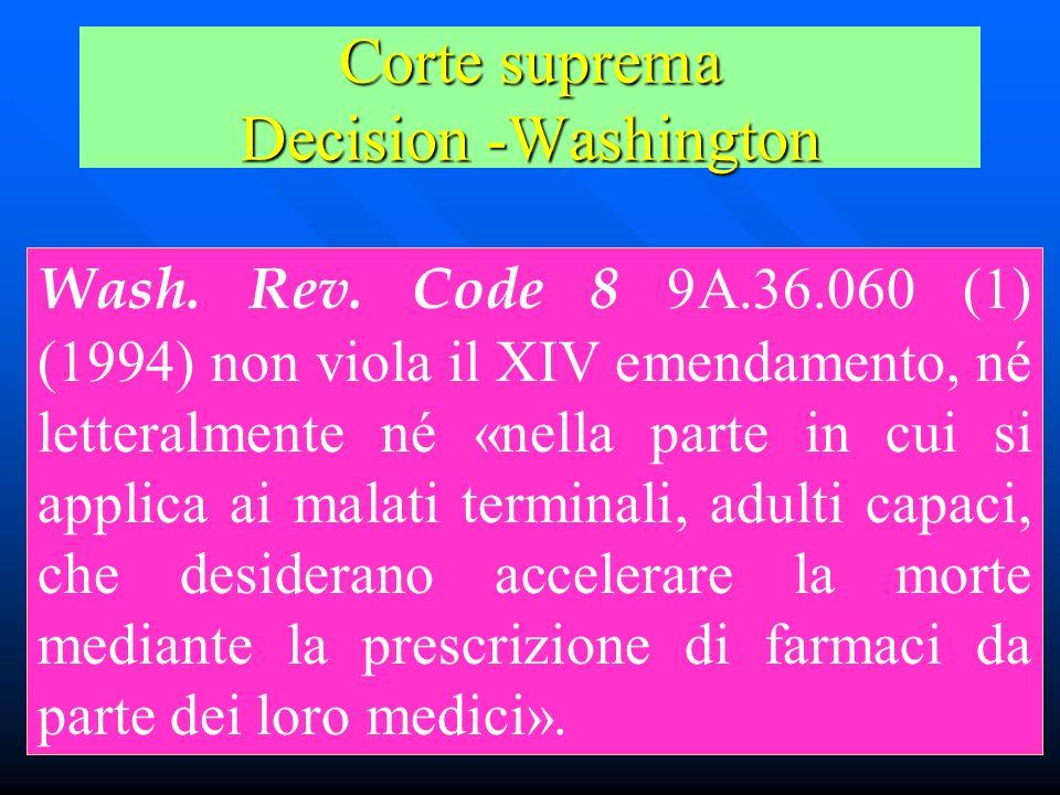 Corte suprema Decision -Washington Wash.Rev.