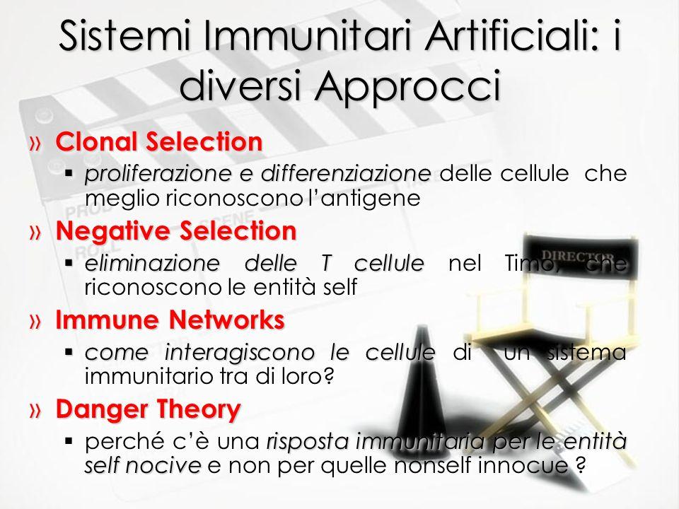 Sistemi Immunitari Artificiali: i diversi Approcci » Clonal Selection proliferazione e differenziazione proliferazione e differenziazione delle cellul