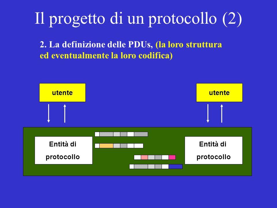 Il progetto di un protocollo (2) 2.