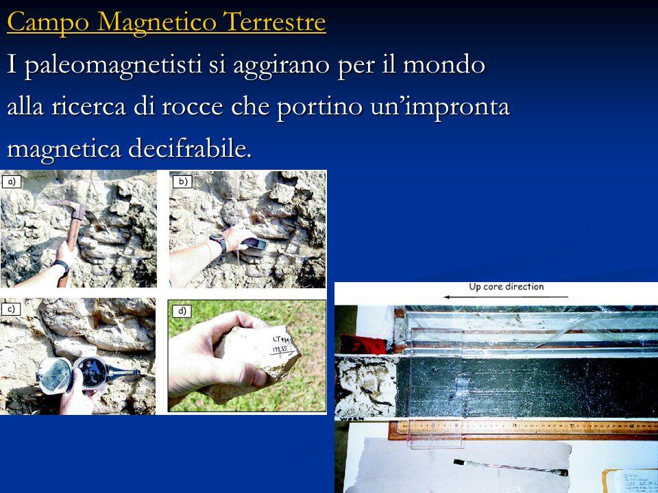 Magnetizzazione termorimanente (MTR) La magnetizzazione che acquistano le colate di lava e le altre rocce ignee al momento del raffreddamento è detta