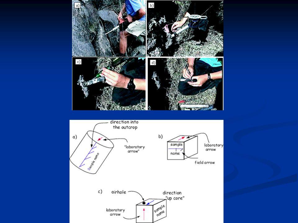 Campo Magnetico Terrestre Campo Magnetico Terrestre I paleomagnetisti si aggirano per il mondo alla ricerca di rocce che portino unimpronta magnetica
