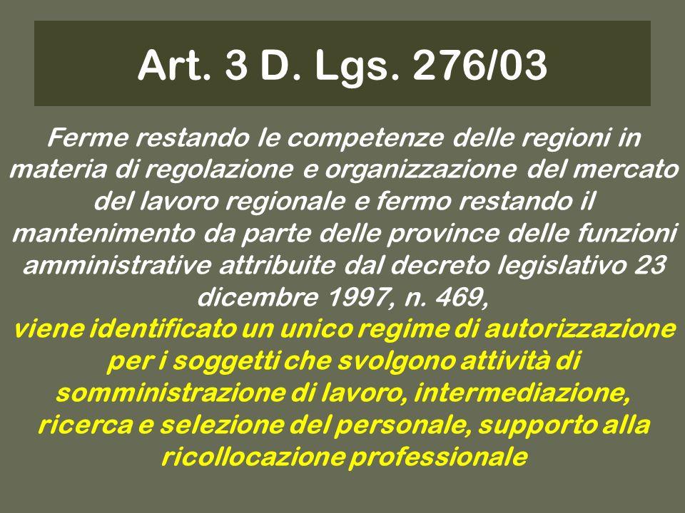 Art. 3 D. Lgs.