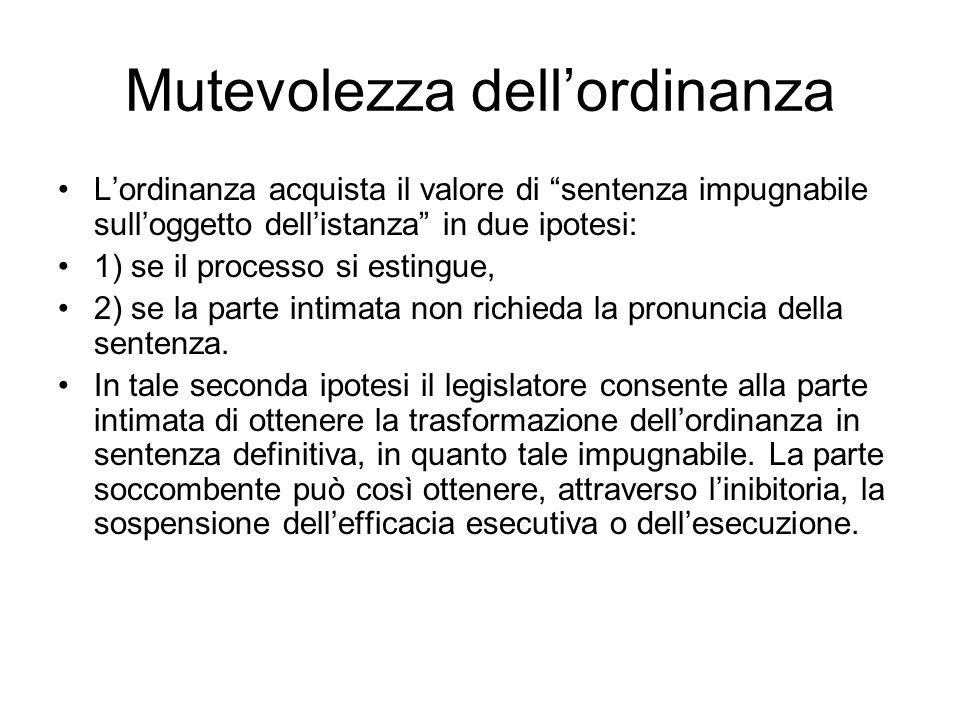 Pronuncia sulle spese Nellultimo cpv del 1° comma dellart.
