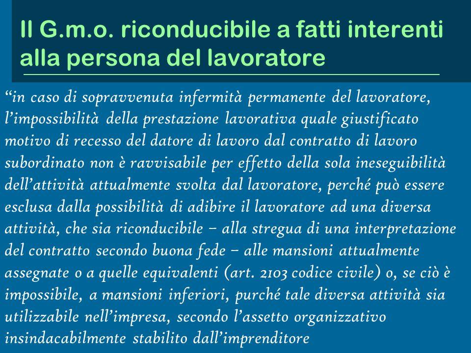 La valutazione giudiziale dellesigenza organizzativa Il titolare della ditta Star Ricambi, ha licenziato unimpiegata, con motivazione riferita alla ne