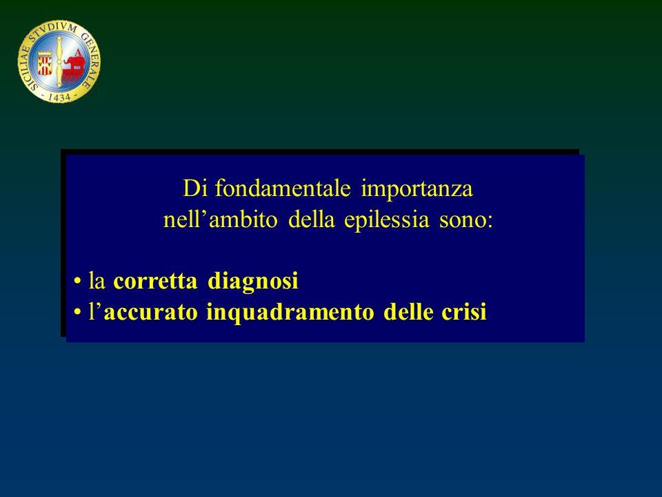 Classificazione internazionale delle epilessie e s.