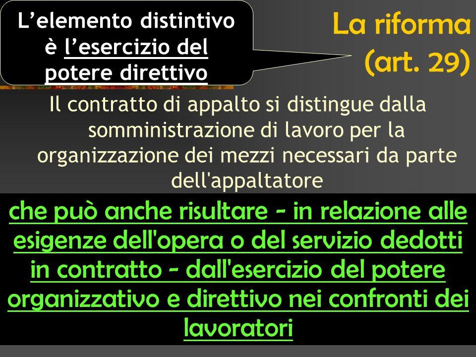 La riforma (art.
