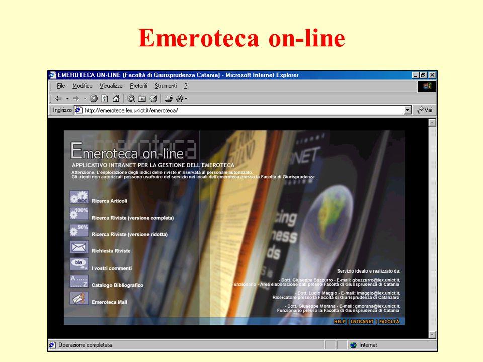 Emeroteca on-line
