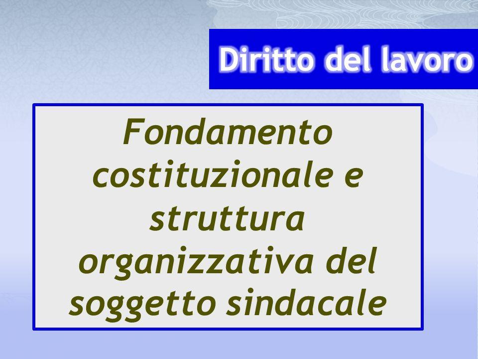 11 a) Il soggetto.Le formule organizzatorie tipiche: associazione e organizzazione.
