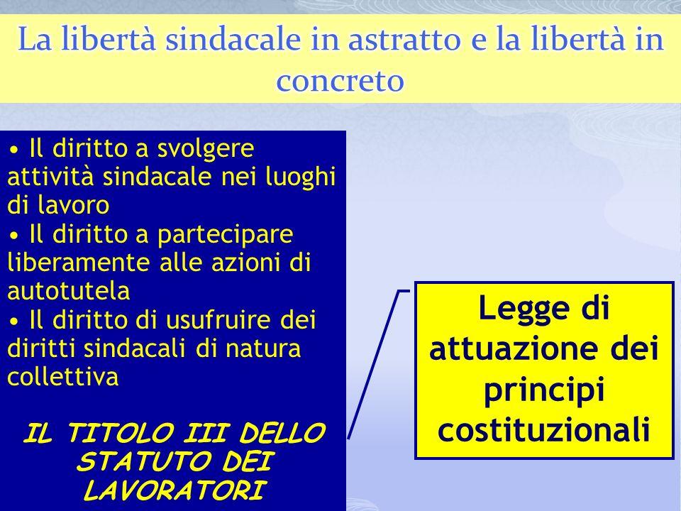 18 Inadeguatezza strutturale della nozione associazione non riconosciuta di associazione non riconosciuta ad inquadrare il fenomeno sindacale rispetto