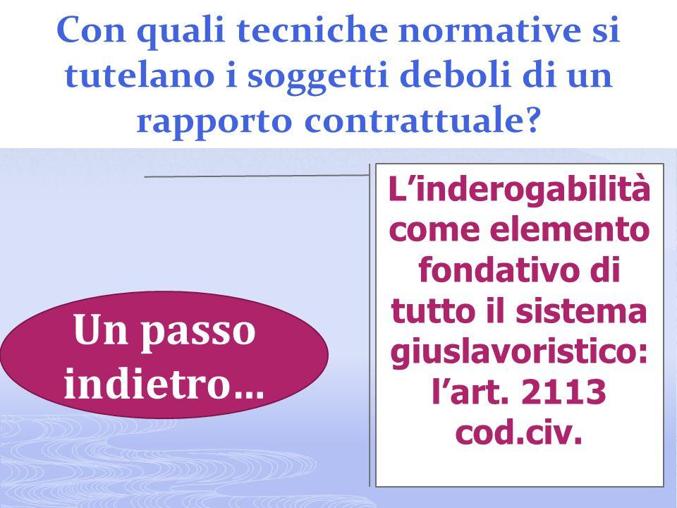 22 Concetto base per qualificare il soggetto sindacale nellordinamento italiano Strumento di selezione tra più sindacati nei sistemi pluralistici