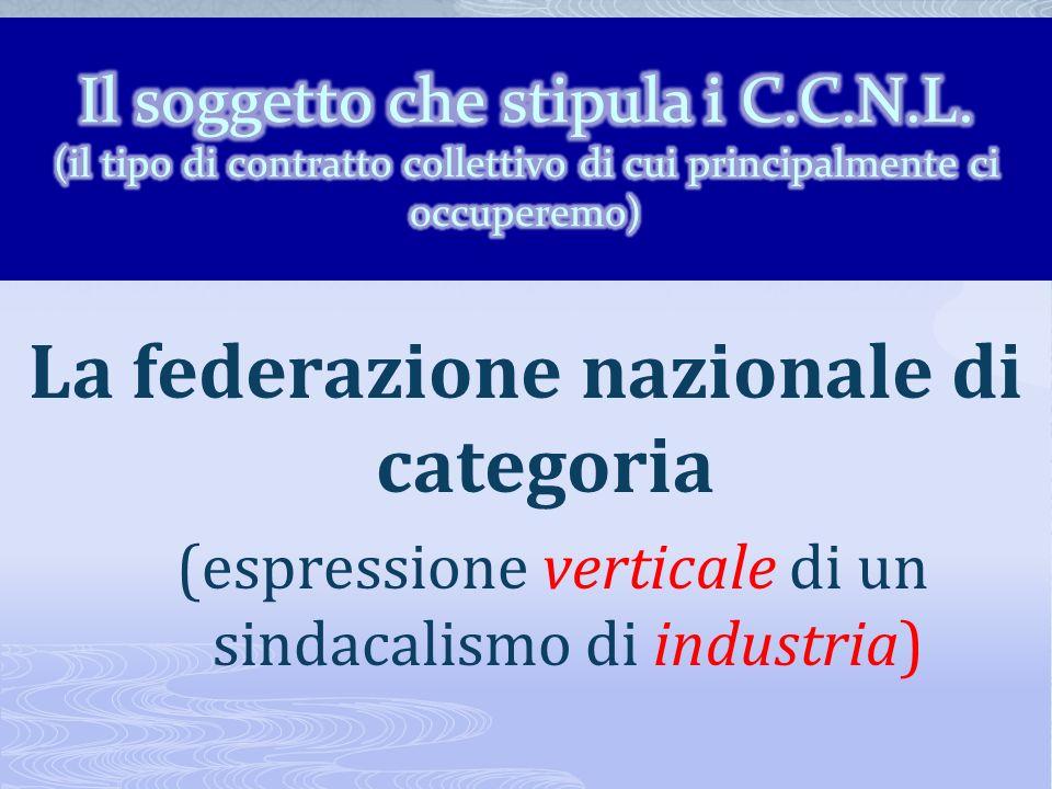 I sindacati nazionali di categoria (federazioni) FILCEA CGIL FEMCA CISL UILCEM UIL FLC CGIL CISL SCUOLA UIL SCUOLA FIOM CGIL FIM CISL UILM UIL CISL FE