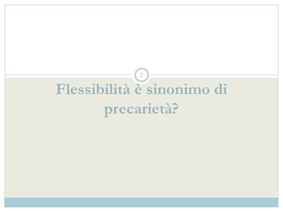 La formula della stabilità nel diritto del lavoro italiano degli anni 60-70 Limiti al contratto a termine + Limiti alla possibilità di licenziare = _____________________________________________ Stabilità massima del posto di lavoro Una proposta in discussione: Contratto a tempo indeterminato per tutti ma con maggiore possibilità di licenziare (Boeri-Garibaldi) Una proposta in discussione: Contratto a tempo indeterminato per tutti ma con maggiore possibilità di licenziare (Boeri-Garibaldi) Gli sviluppi successivi: Labbandono della stabilità massima realizzato attraverso un progressivo allentamento dei vincoli al contratto a termine (mentre resta inalterata la disciplina dei licenziamenti) Gli sviluppi successivi: Labbandono della stabilità massima realizzato attraverso un progressivo allentamento dei vincoli al contratto a termine (mentre resta inalterata la disciplina dei licenziamenti) 13