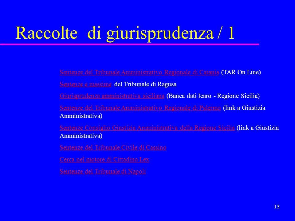 12 Il progetto NIR Accesso alle norme in reteNIR WWW.NORMEINRETE.IT