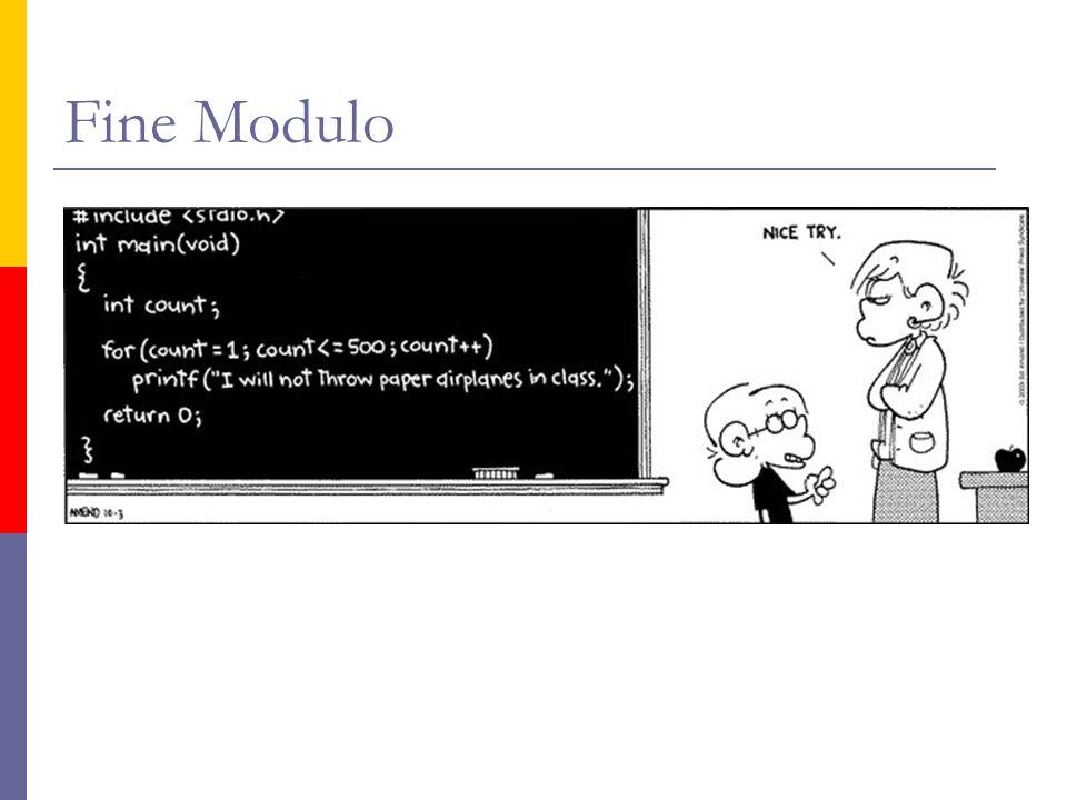 Fine Modulo