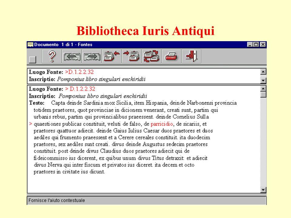 Bibliotheca Iuris Antiqui