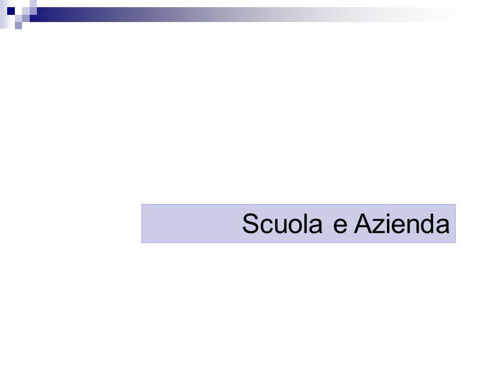 Scuola e Azienda
