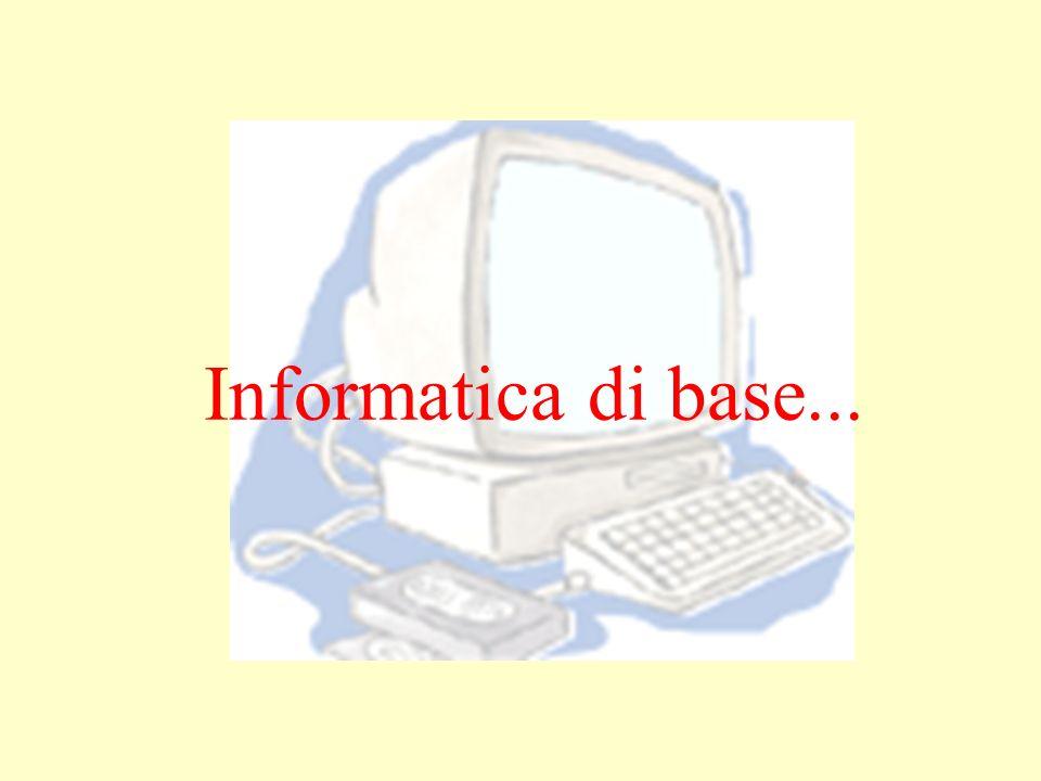 Informatica di base...