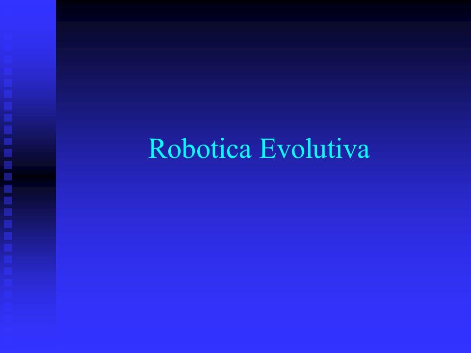 L evoluzione di un abilità di navigazione usando un robot fisico E possibile [Floreano e Mondada, 1994] addestrare delle reti neurali per il controllo di un robot autonomo che deve svolgere un compito di navigazione ed evitando gli ostacoli.