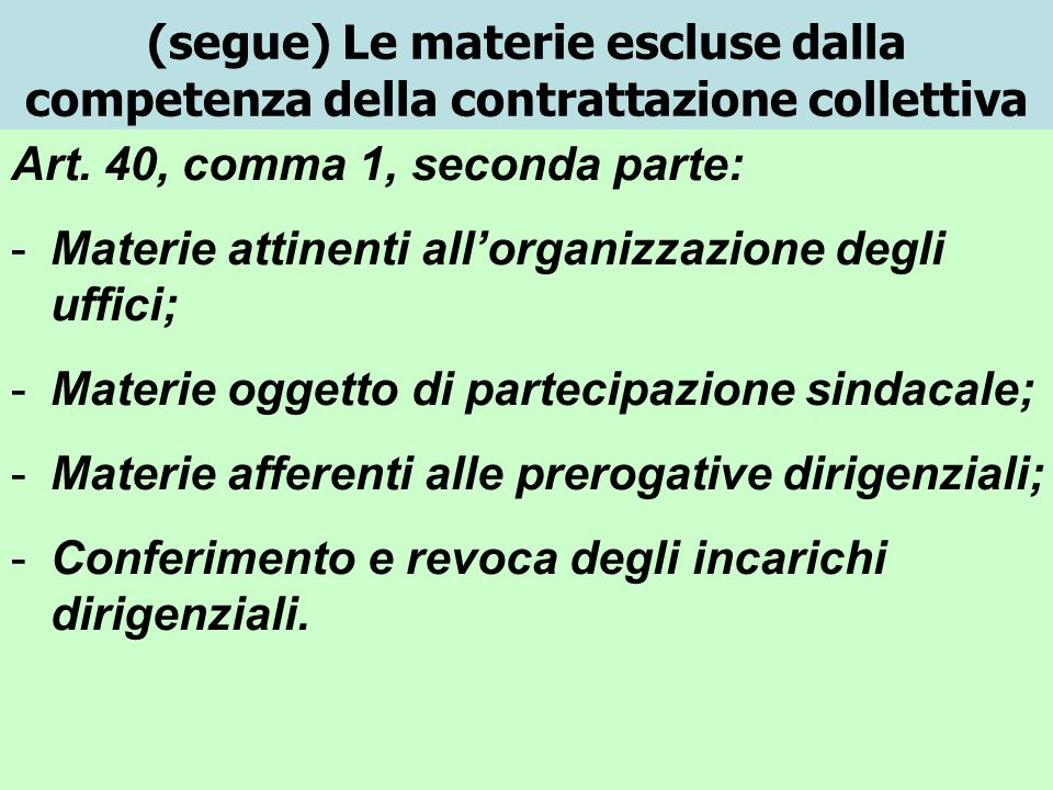 I conflitti di interpretazione sui contratti collettivi a)Lart.