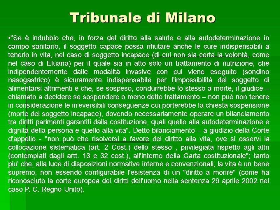 Tribunale di Milano