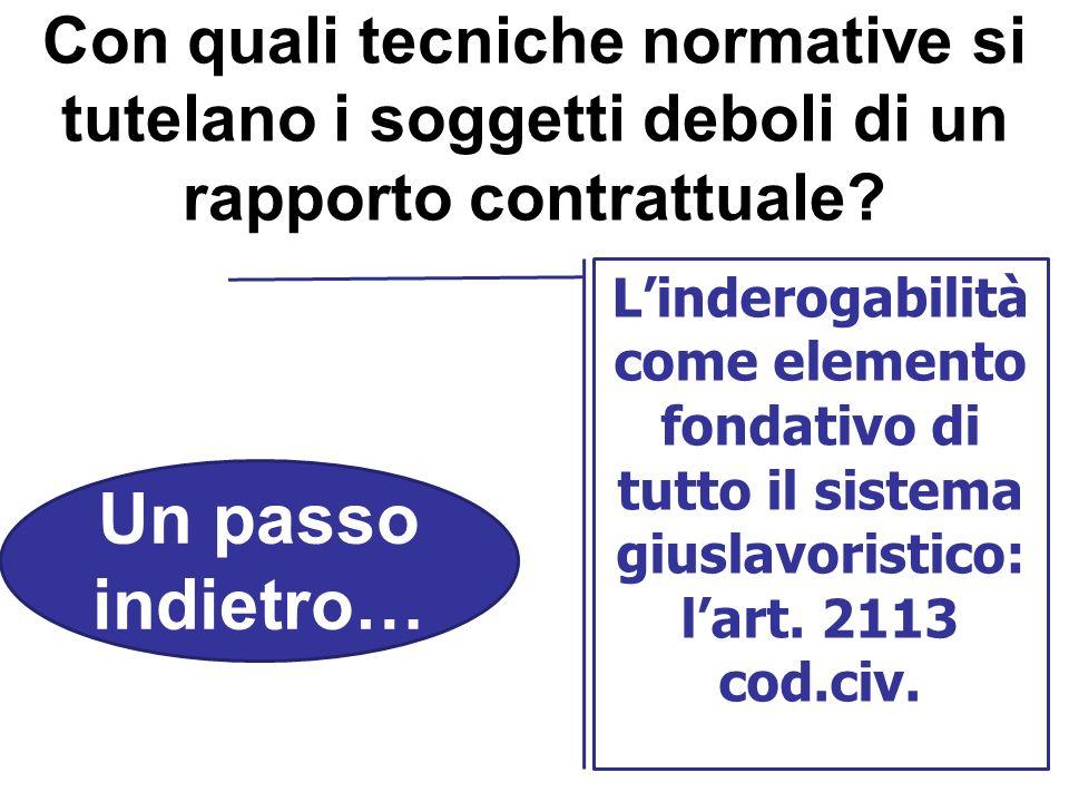 La struttura della contrattazione collettiva in Italia Dagli anni 50 agli accordi interconfederali del 2009