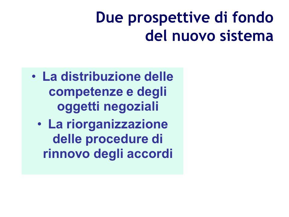 La ratio del Protocollo Rispetto alla precedente esperienza di intese trilatere esso ha implementato un sistema organico di regole istituzionali che h
