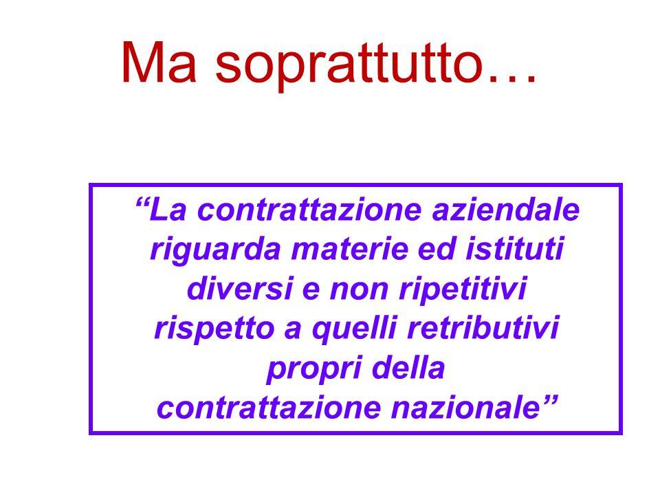 I contenuti del Protocollo Ciampi (3) Laffermazione per via contrattuale del criterio gerarchico come regola che presiede alla disciplina dei rapporti