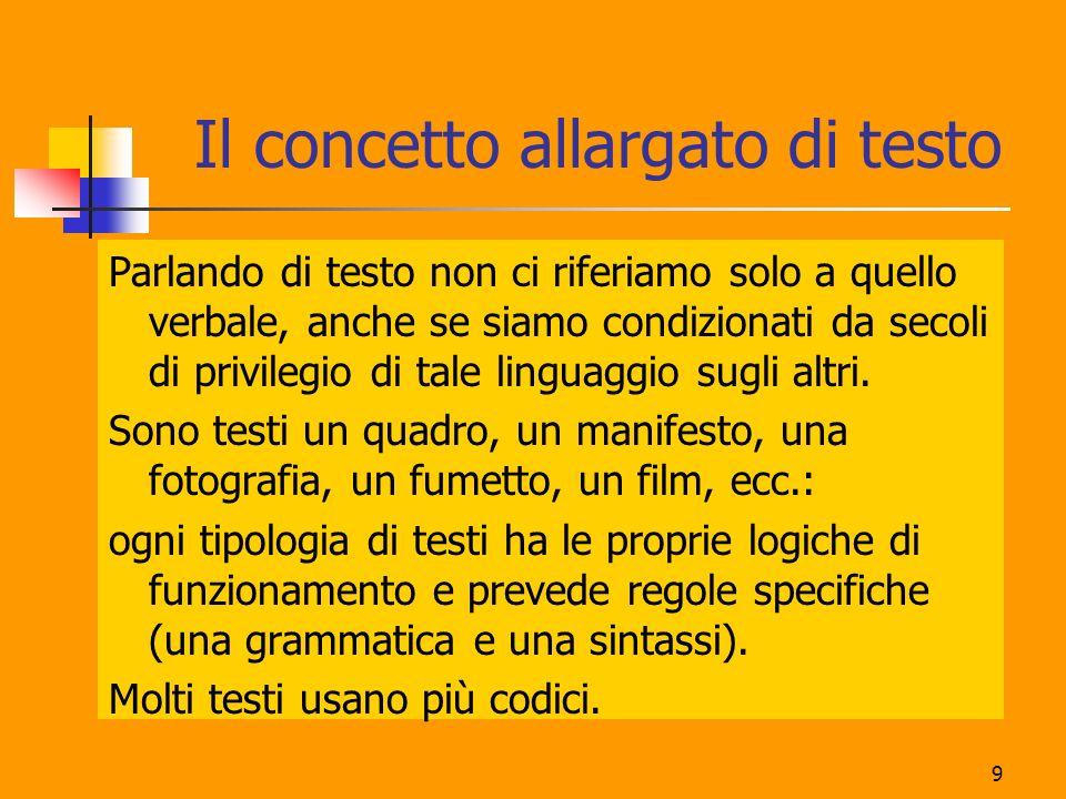 10 Contenuto e relazione, anche nei testi In un testo si alternano e si sovrappongono due tipi di riferimento: oggetto: ciò che si racconta, si descrive, si presenta.