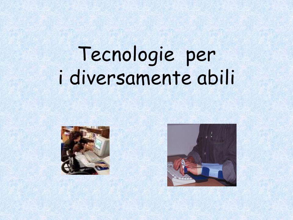 Tecnologie per i diversamente abili