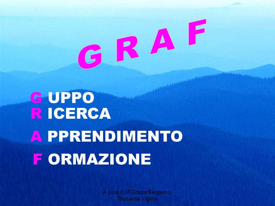A cura di M.Grazia Bergamo, Riccarda Viglino G UPPO R ICERCA A PPRENDIMENTO F ORMAZIONE