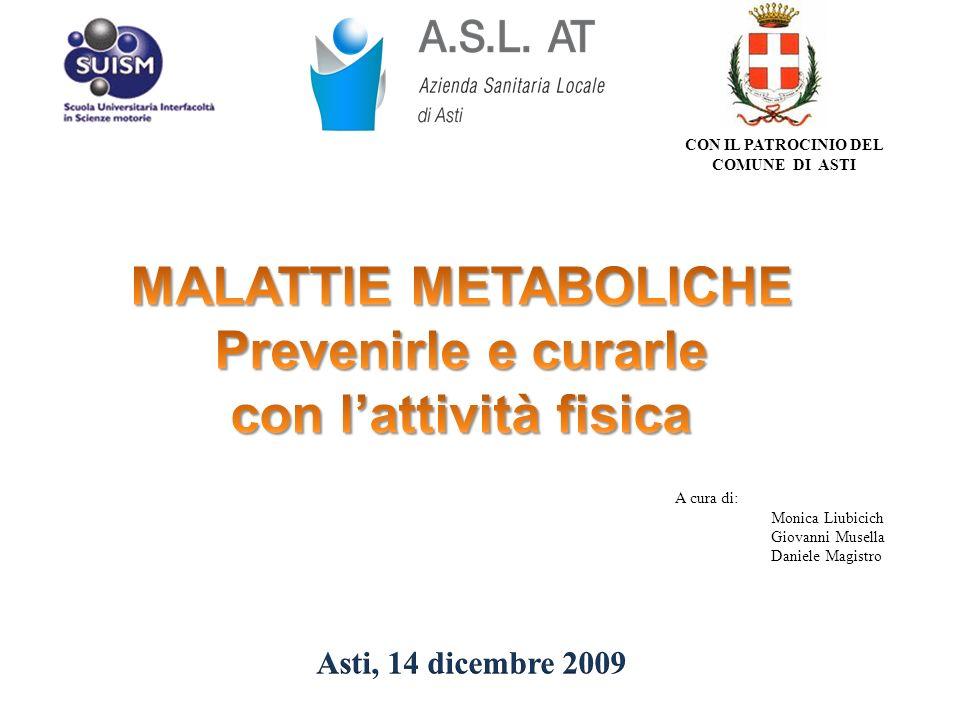 Il progetto INTERAZIONE S.O.C.DIETETICA e NUTRIZIONE CLINICA Dott.
