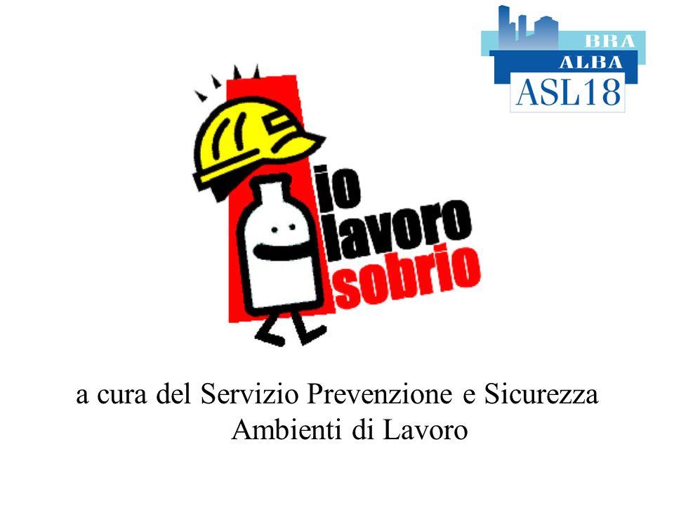 a cura del Servizio Prevenzione e Sicurezza Ambienti di Lavoro