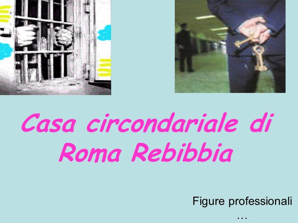 Casa circondariale di Roma Rebibbia Figure professionali …