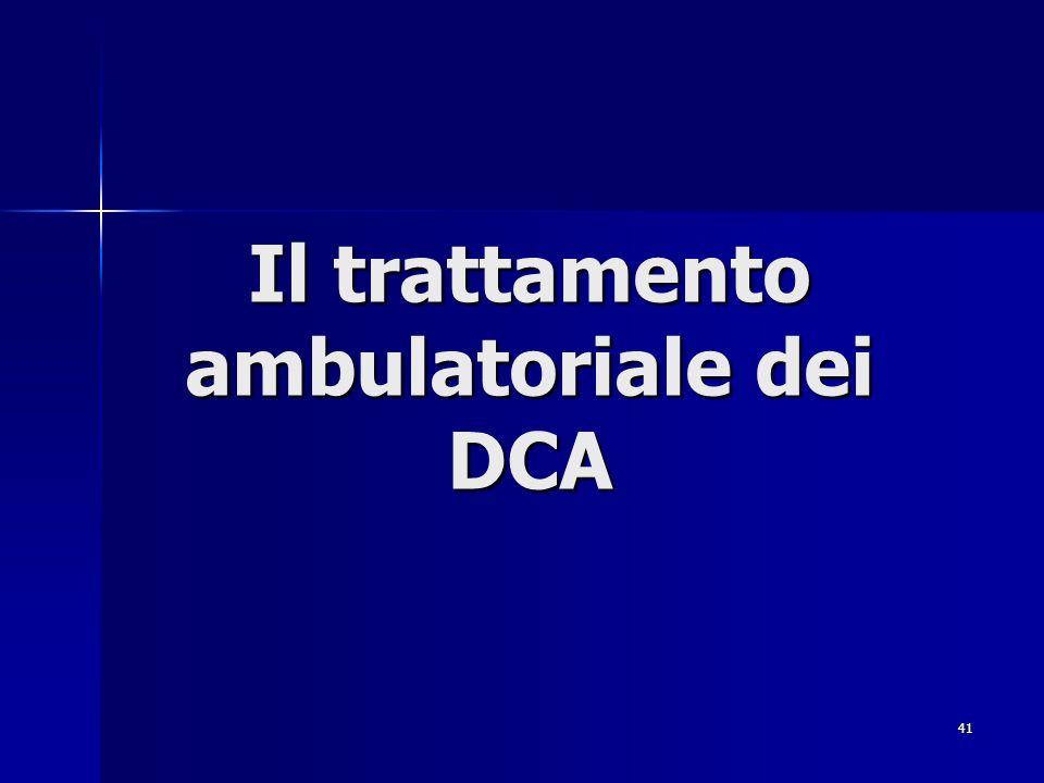 41 Il trattamento ambulatoriale dei DCA