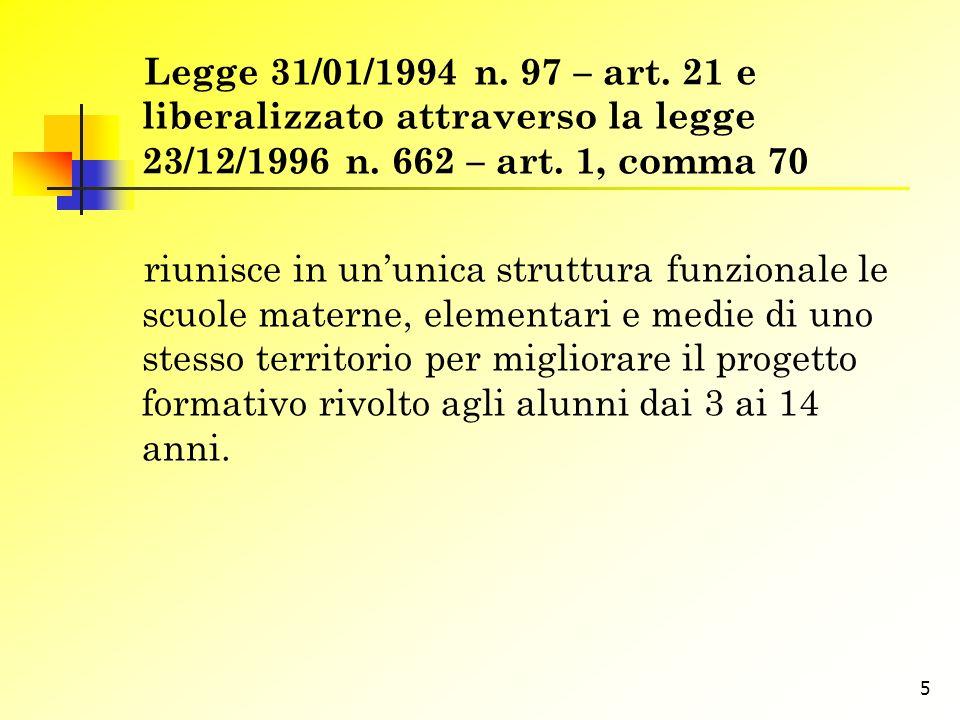 6 Ordinanza ministeriale 04.08.1995, n.267 – artt.