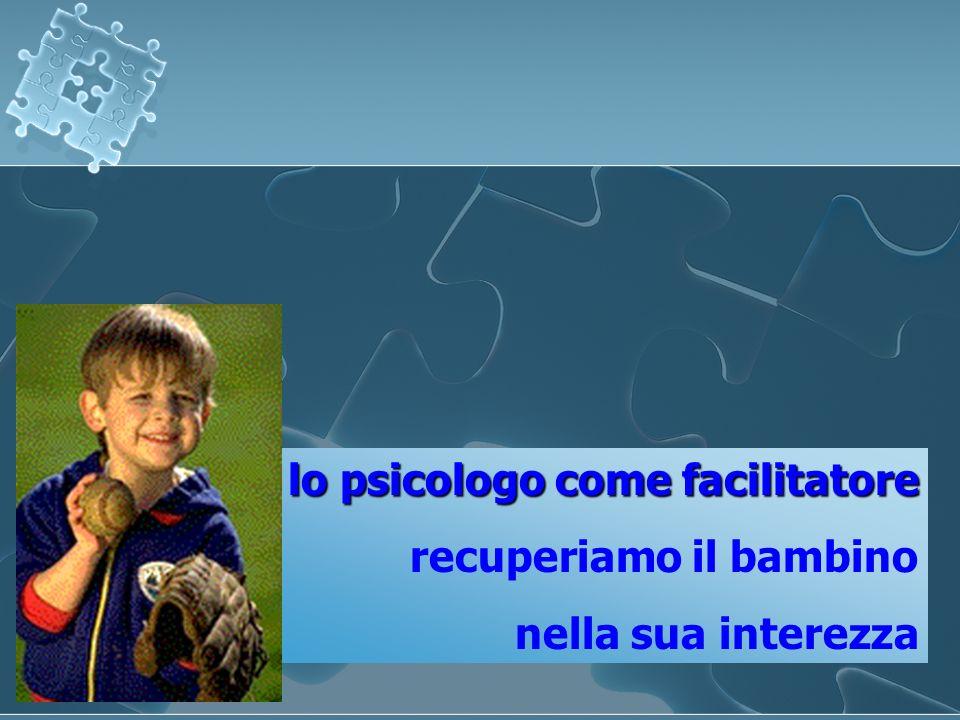 lo psicologo come facilitatore recuperiamo il bambino nella sua interezza