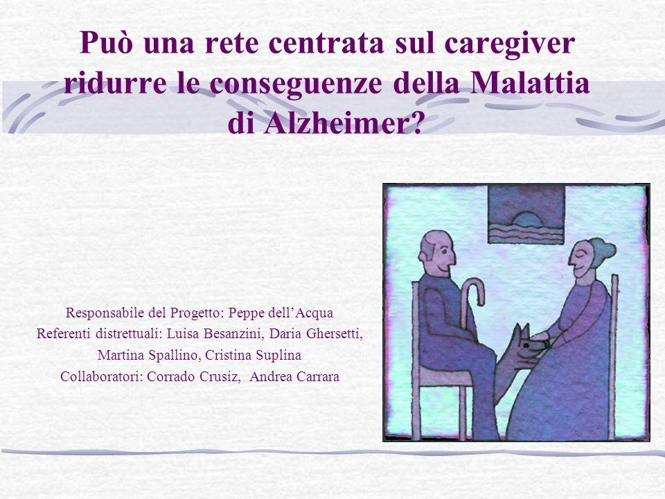 Può una rete centrata sul caregiver ridurre le conseguenze della Malattia di Alzheimer.