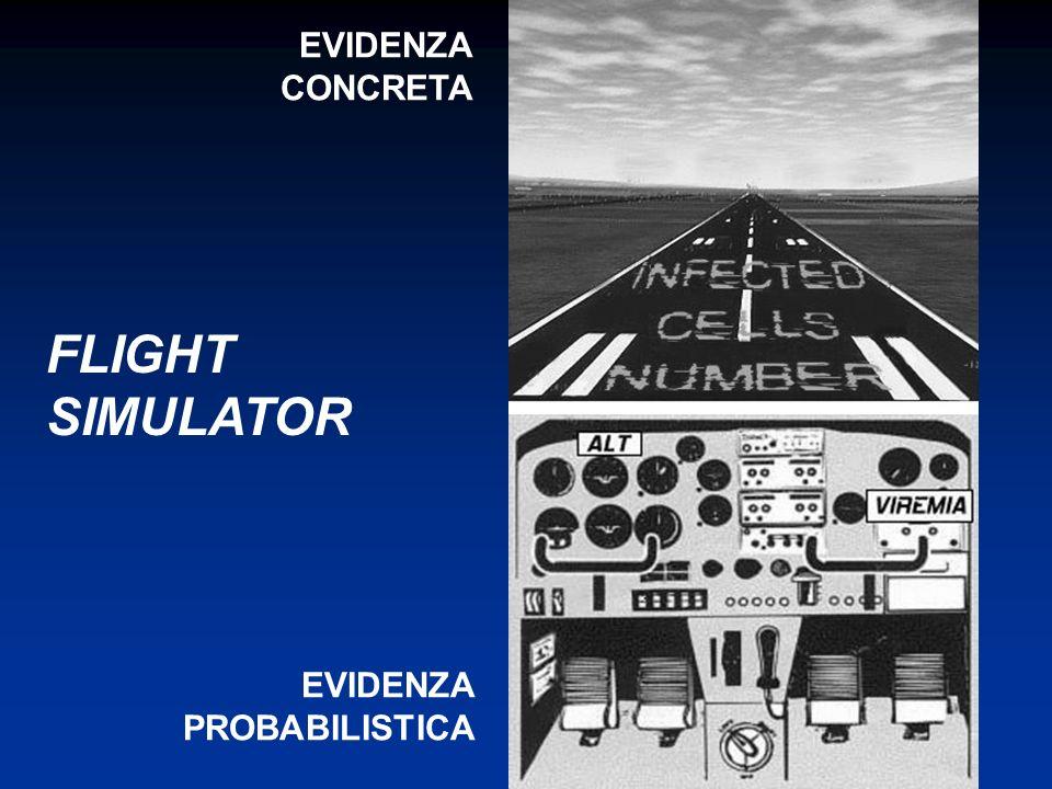 FLIGHT SIMULATOR EVIDENZA CONCRETA EVIDENZA PROBABILISTICA