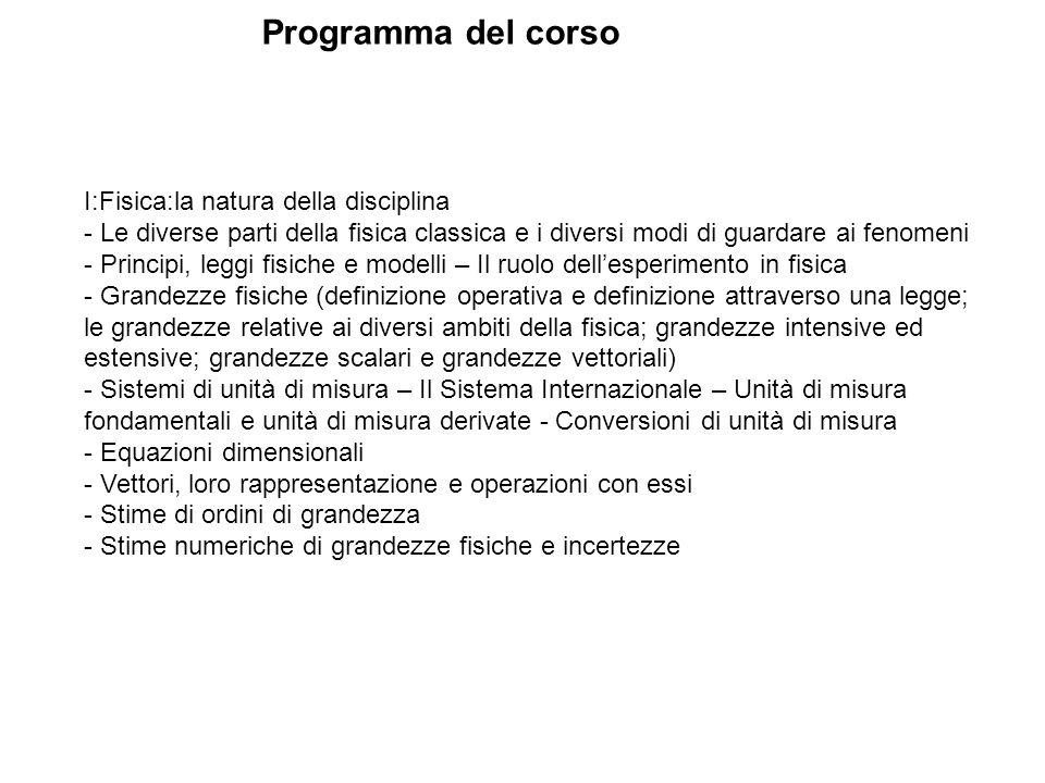 Programma del corso Lu08 gen.