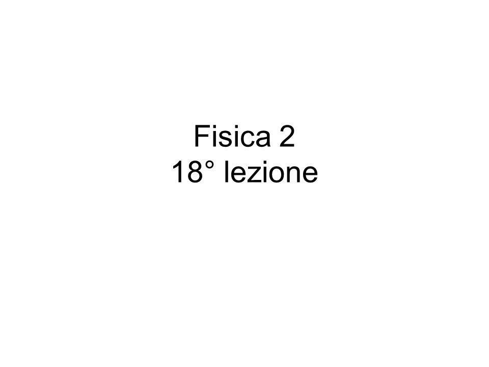 Fisica 2 18° lezione
