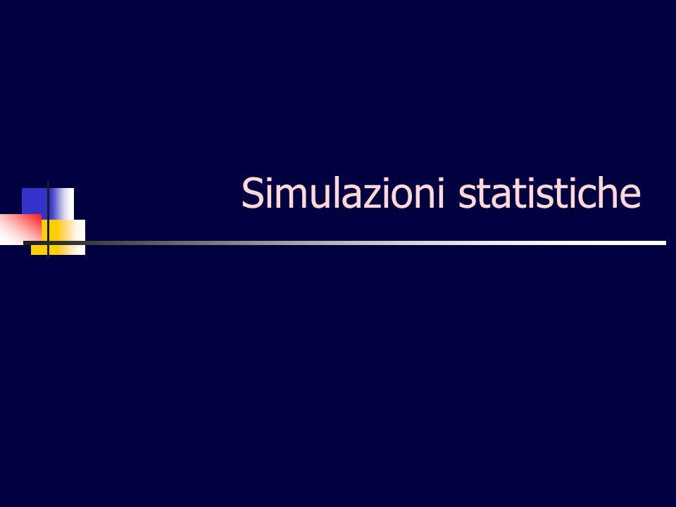 Simulazioni statistiche