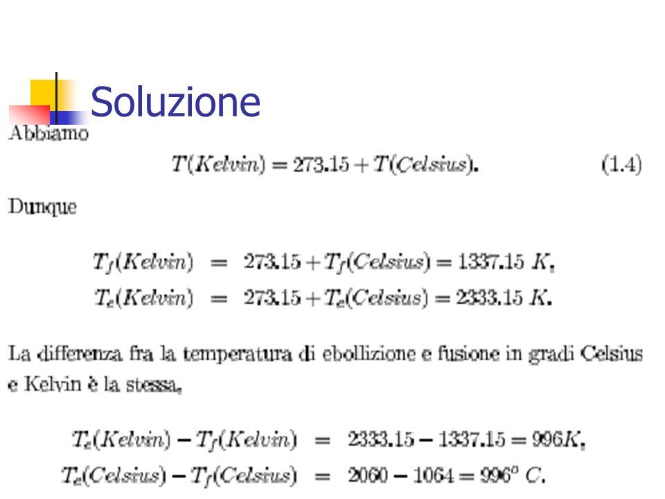 Marina Cobal - Dipt.di Fisica - Universita di Udine4 Soluzione