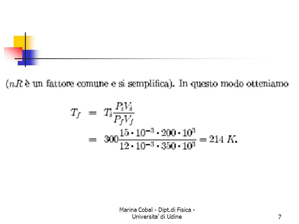 Marina Cobal - Dipt.di Fisica - Universita di Udine7