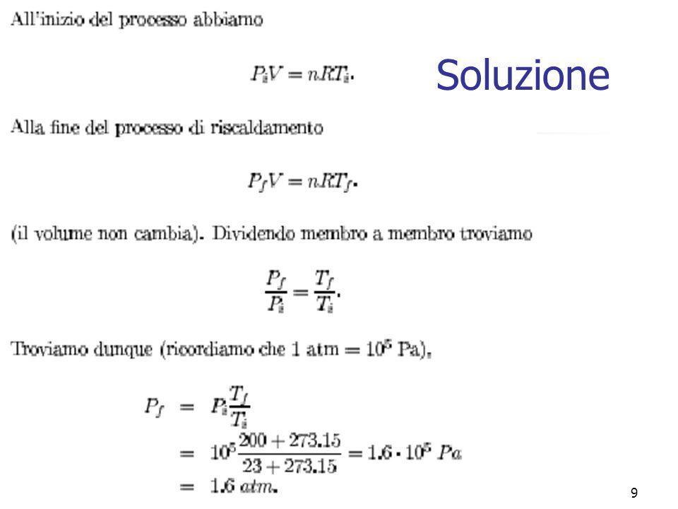 Marina Cobal - Dipt.di Fisica - Universita di Udine9 Soluzione