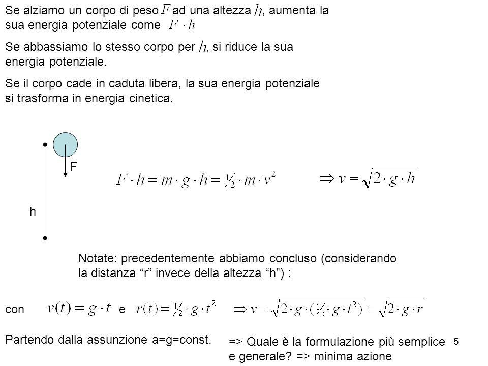36 rotazione Moto lineare => Legge di Newton: e cone due lucidi fa abbiamo anche visto che