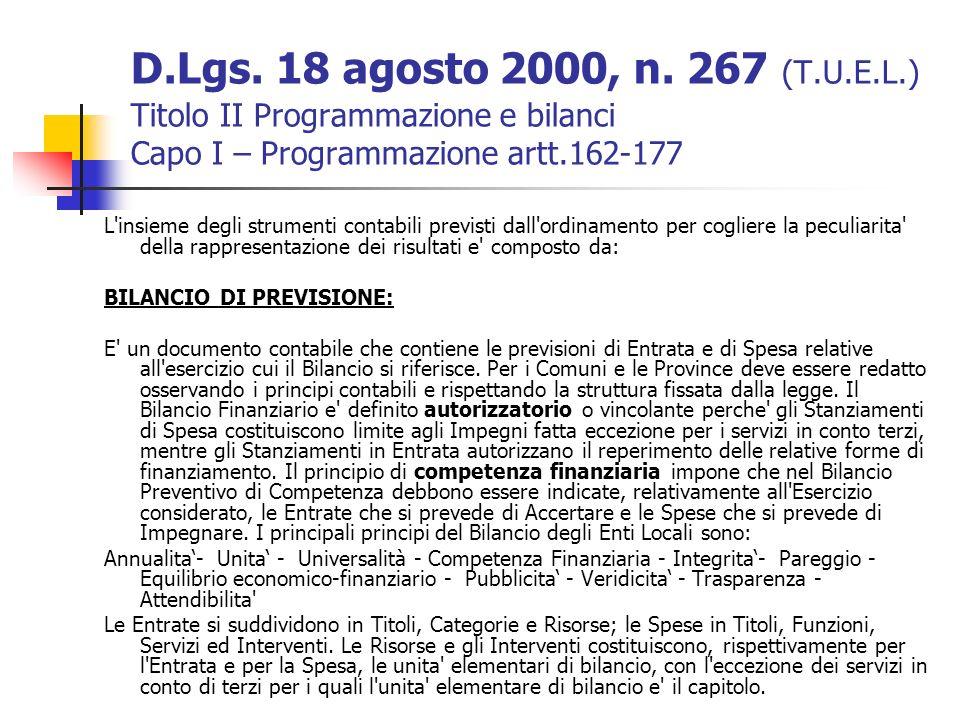D.Lgs.18 agosto 2000, n.