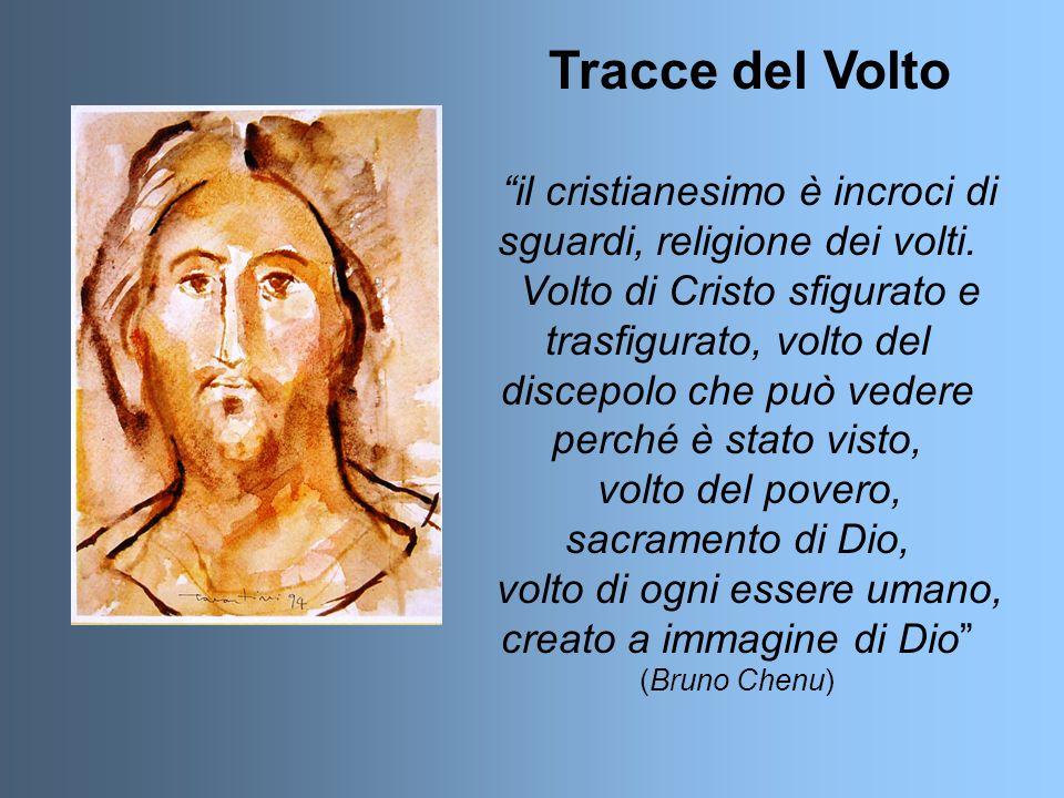 Tracce del Volto il cristianesimo è incroci di sguardi, religione dei volti.