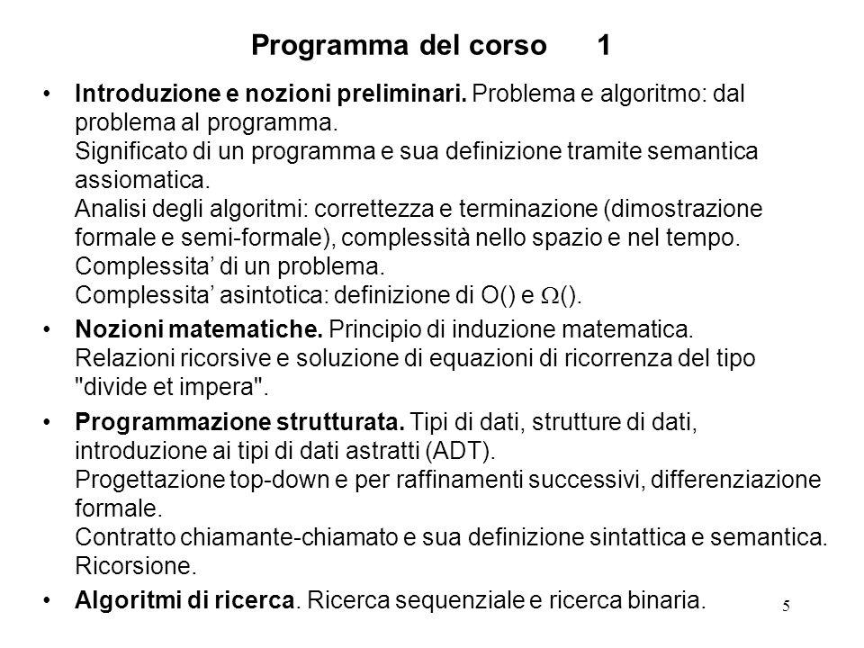16 Riconoscimenti - 2 Le lezioni sono state preparate utilizzando i seguenti riferimenti: E.