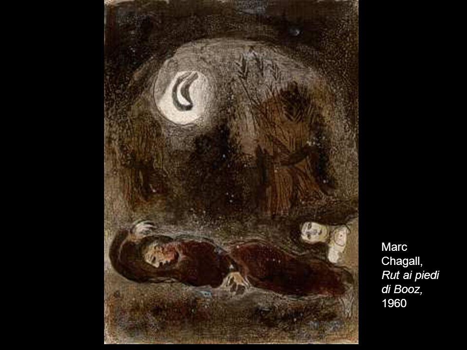 19 Marc Chagall, Rut ai piedi di Booz, 1960