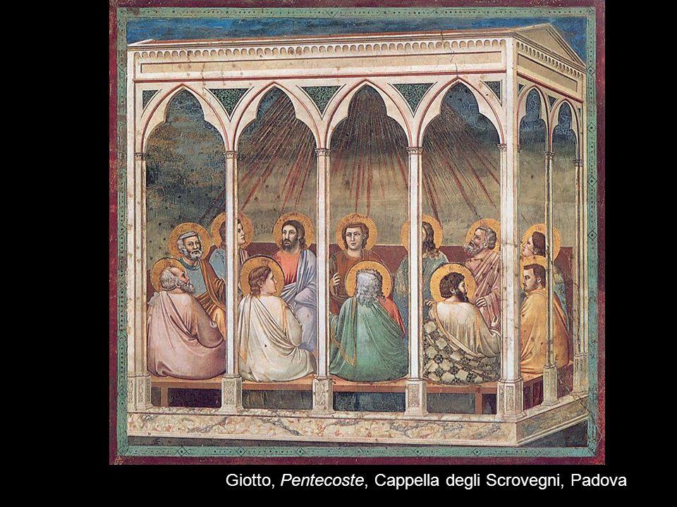 31 Giotto, Pentecoste, Cappella degli Scrovegni, Padova